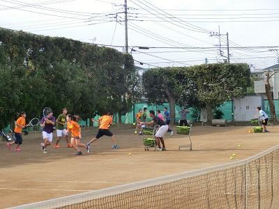 男女テニス部