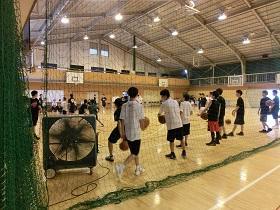 部活動体験(バスケットボール)