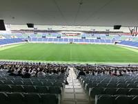 スタジアム内での開会式